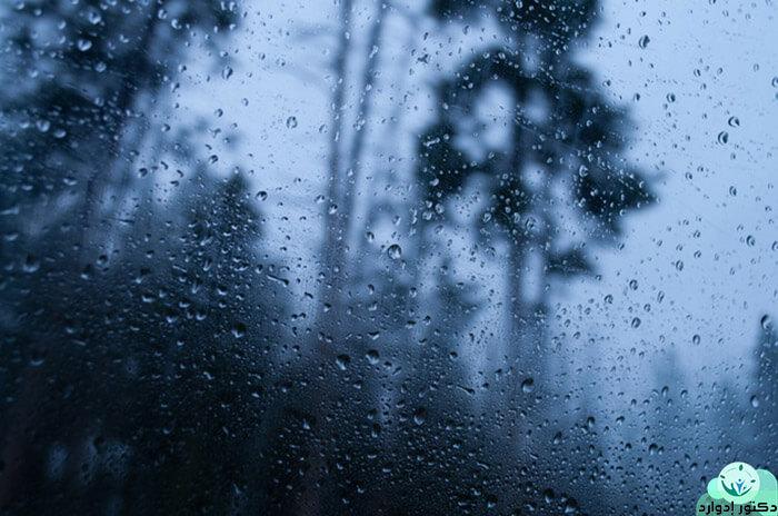 رؤية المطر في الحلم للمتزوجة